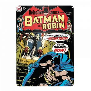 Batman And Robin metal sign 400mm x 300mm  (og)